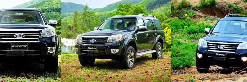 Thanh lý xe Ford Everest 2010